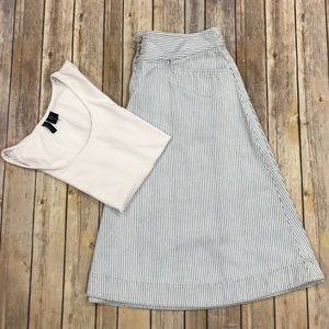 Vintage Ralph Lauren jeans striped skirt 8